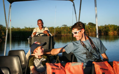 Our Botswana Family Safari Adventure ~ by Air, Land and Water