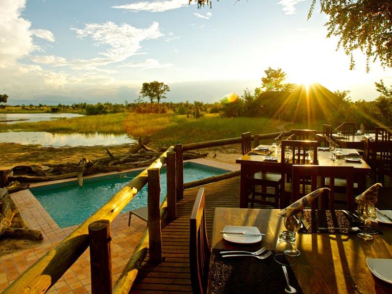 Zimbabwe Nehimba Lodge Hwange National Park