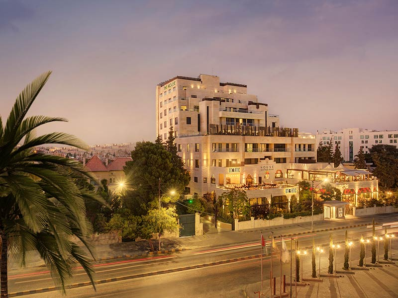 Exterior view of The House Boutique Suites, Amman, Jordan